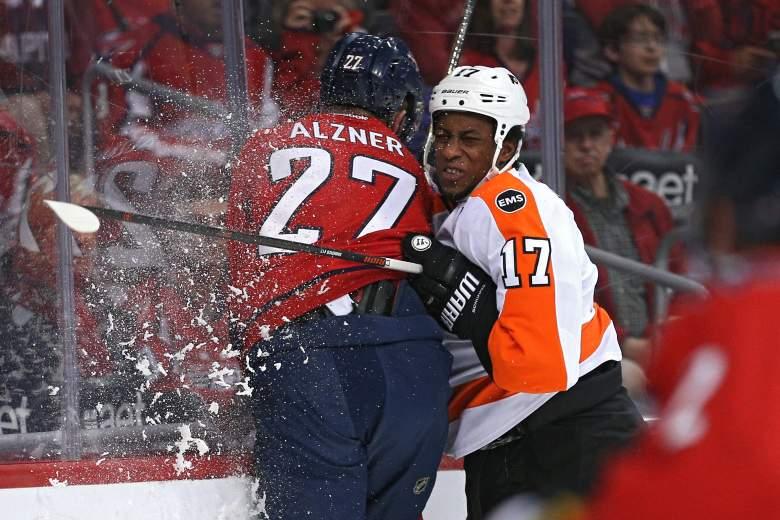 Philadelphia Flyers, Washington Capitals, NHL playoffs schedule