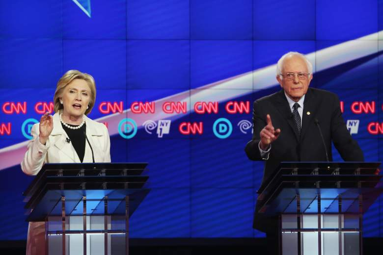 Hillary Clinton and Bernie Sanders, New York Democratic polls, early latest polling numbers