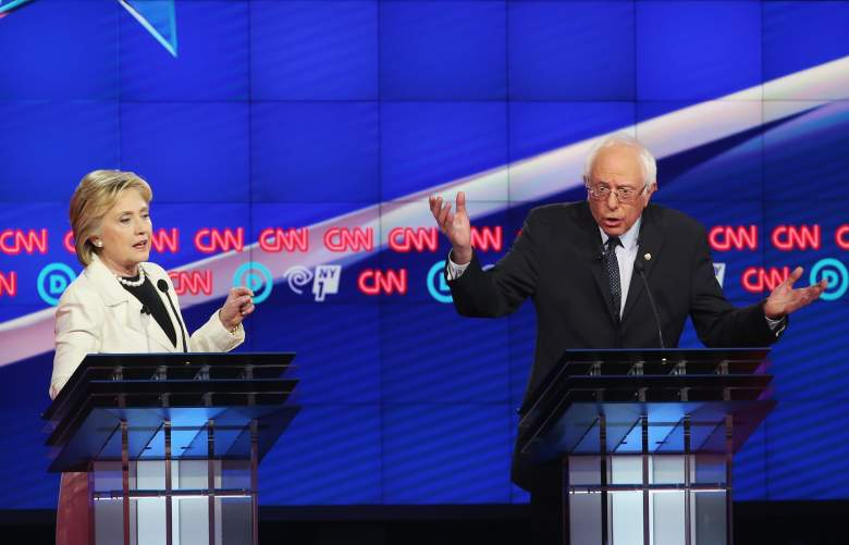 Hillary Clinton and Bernie Sanders, Indiana Democratic polls, early latest current polling numbers, favorite