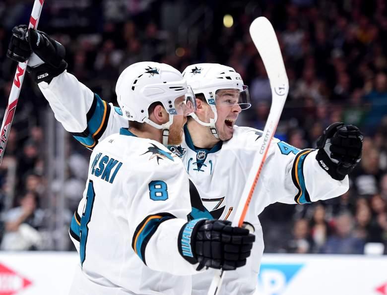 San Jose Sharks, Los Angeles Kings, NHL playoff schedule