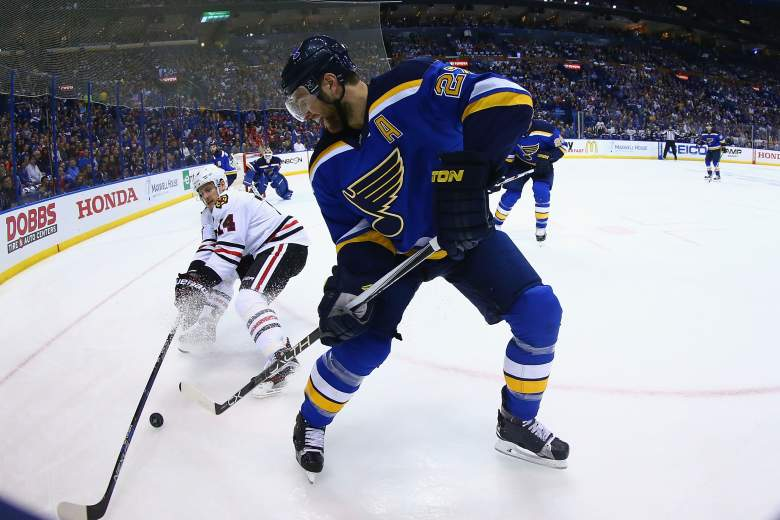 Chicago Blackhawks, St. Louis Blues, NHL playoffs