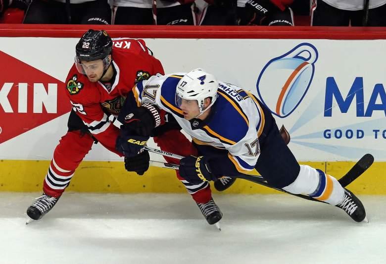 St. Louis Blues, Chicago Blackahwks, NHL playoffs