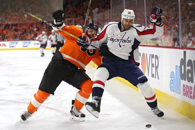 Washington Capitals, Philadelphia Flyers, NHL playoffs