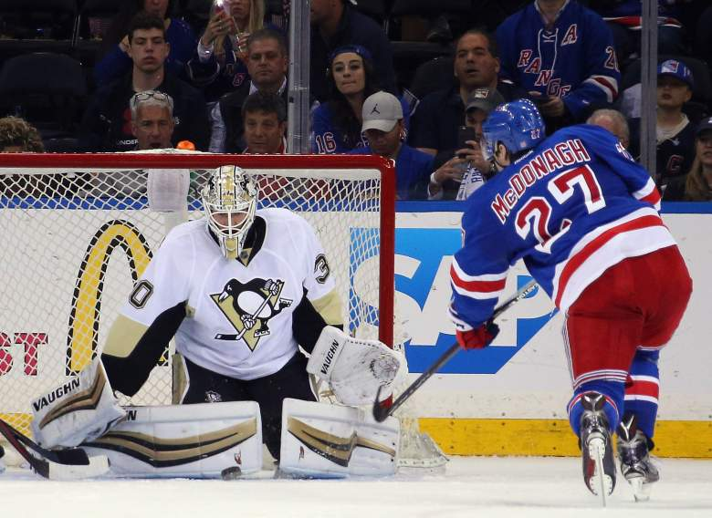 Pittsburgh Penguins, New York Rangers, NHL playoffs