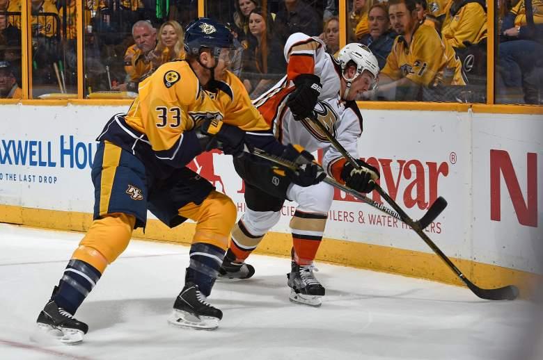 Anaheim Ducks, Nashville Predators, NHL playoffs