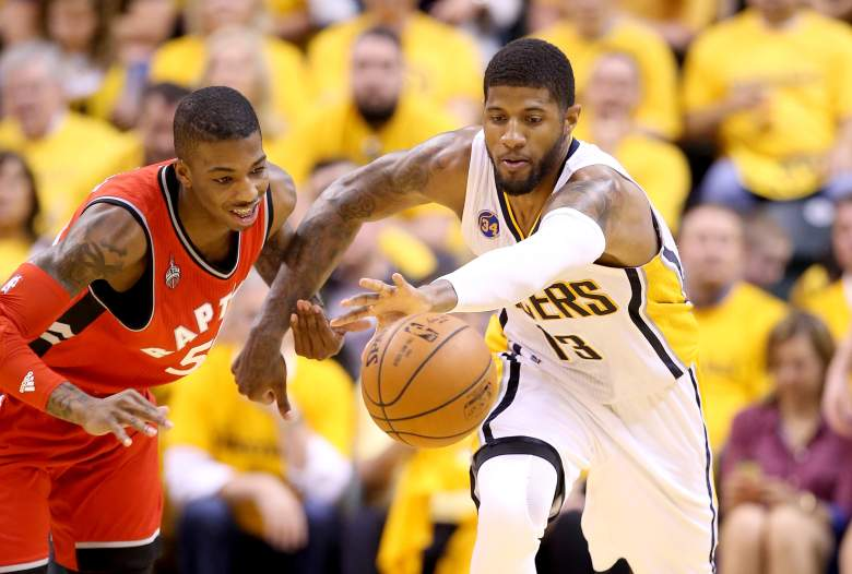 Toronto Raptors, Indiana Pacers, NBA playoffs