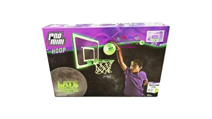 Glow in the Dark basketball hoop