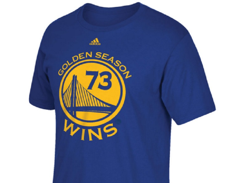 golden state warriors nba record 73 wins gear shirts