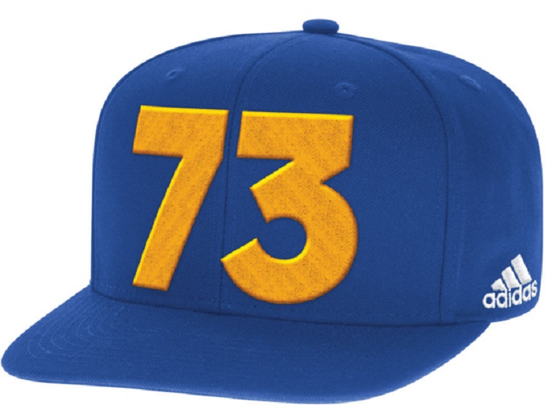 warriors nba record 73 wins gear hats