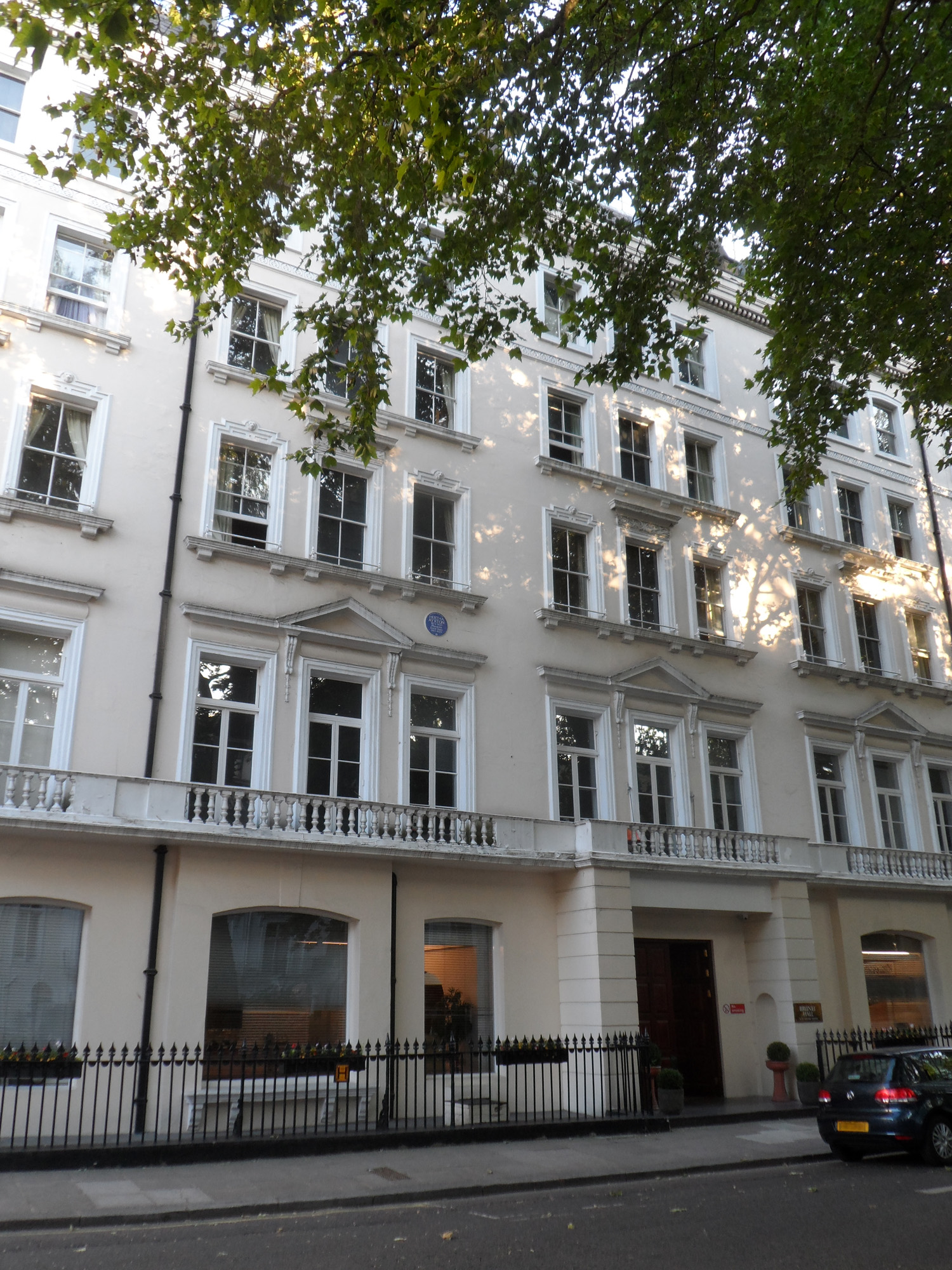 The home in London where Hertha Marks Ayrton lived. (Wikipedia Commons)