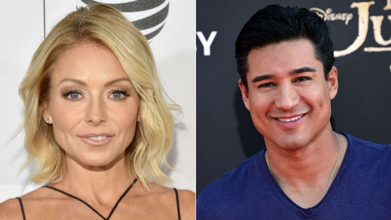 kelly ripa and mario lopez, kelly ripa live co-host