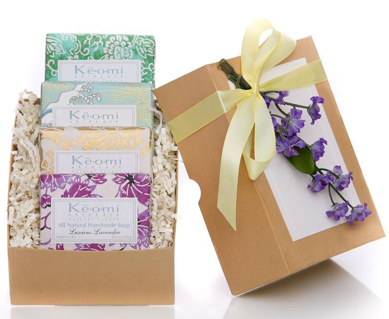 Keomi Skincare Organic Handmade Soap Gift Set