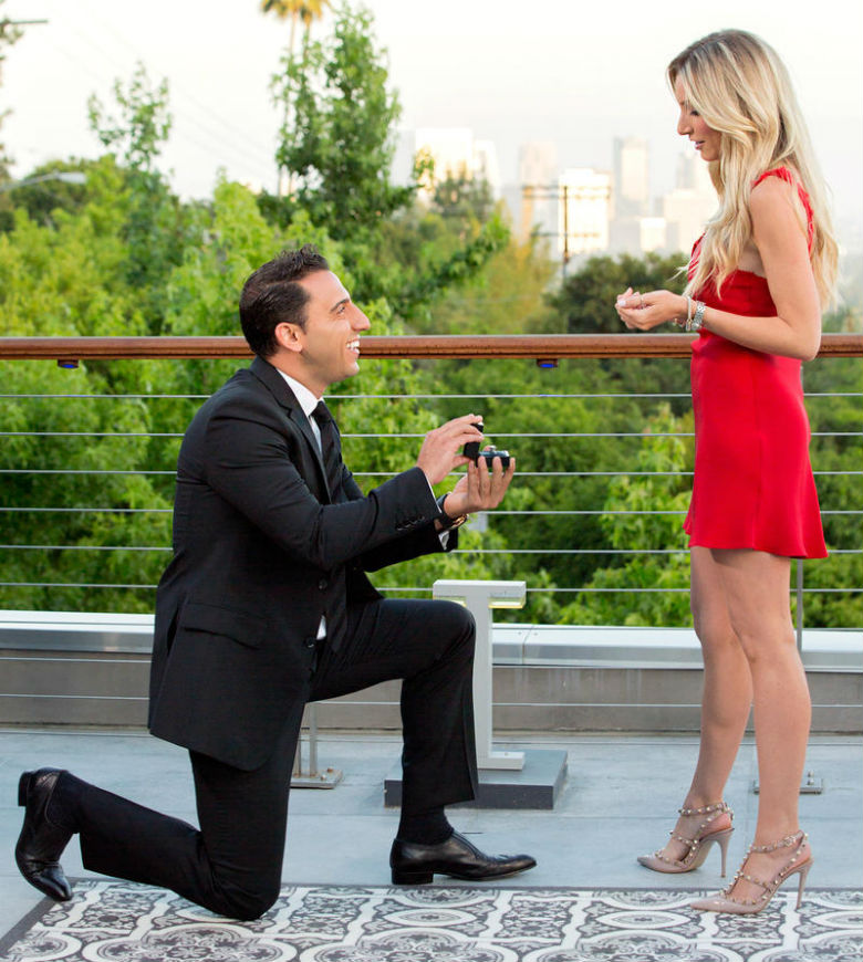 million dollar listing los angeles josh altman, josh altman proposal, josh altman heather bilyeu engagement