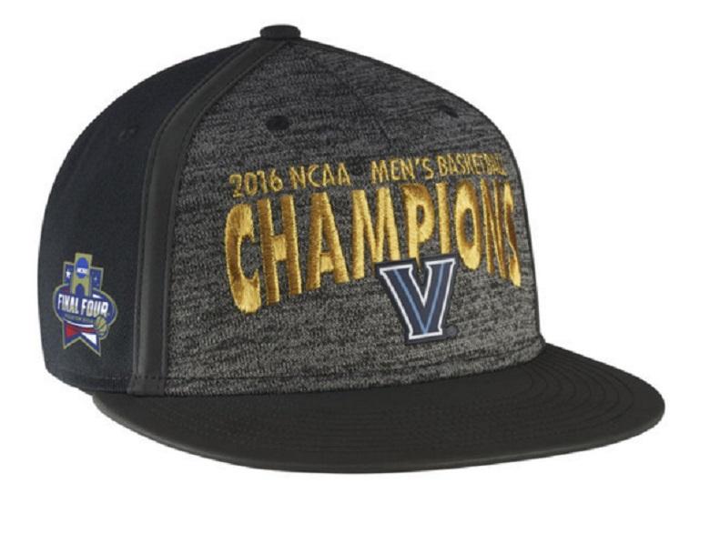villanova wildcats national champions 2016 gear hats