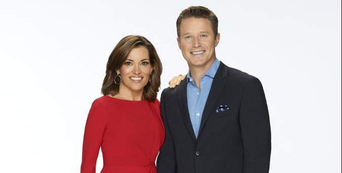 billy bush and kit hoover, access hollywood hosts
