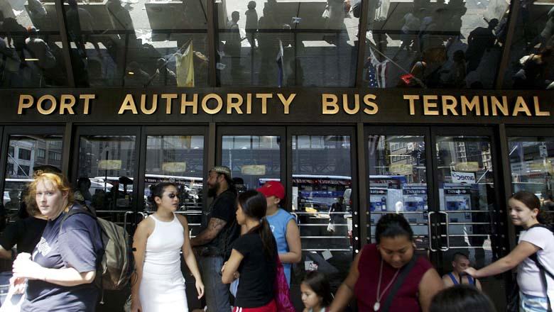 port authority nyc, port authority bomb threat
