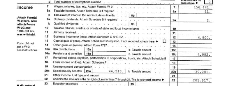 bernie sanders tax return
