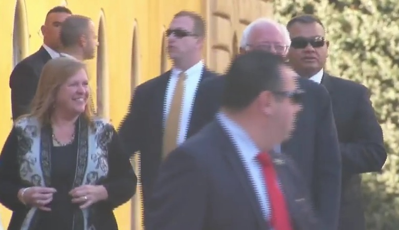 Sanders and Jane at the Vatican