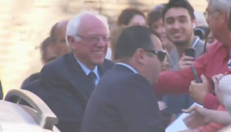 Bernie at the Vatican