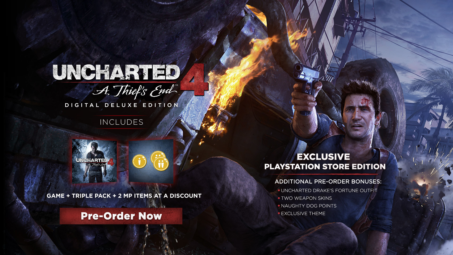 Uncharted 4 Digital Deluxe Edition