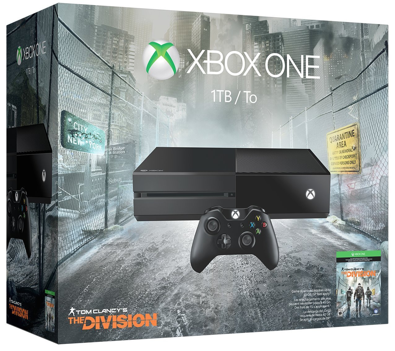 Xbox One Bundle The Division
