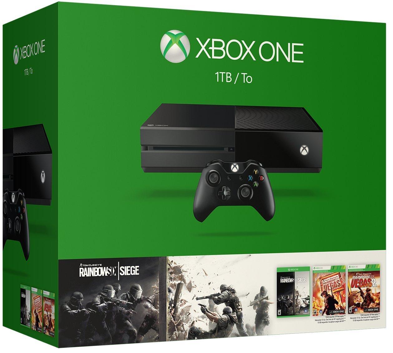 Xbox One Bundle Rainbow Six