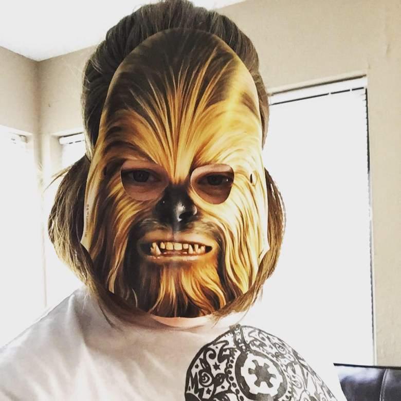chewbacca star wars, chewbacca mask, chewbacca mask woman