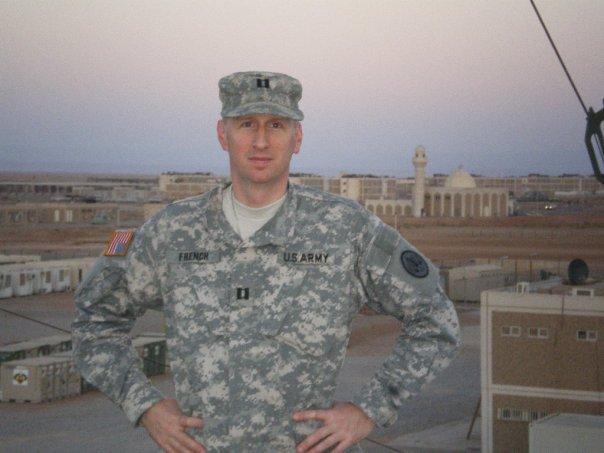 David French Iraq, David French war, David French army