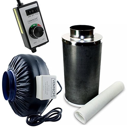 ventech inline duct fan, hydroponic ventilation, inline fan for cannabis grow op, grow room marijuana