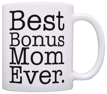 est Bonus Mom Ever Coffee Mug stepmom mothers day gift