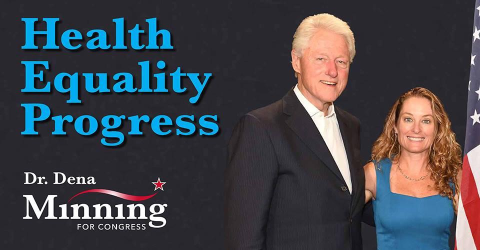 Dena Grayson Minning Bill Clinton