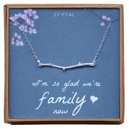 I'm So Glad We're Family Now Necklace