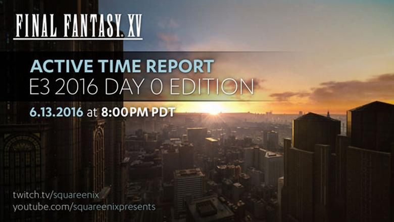 Final Fantasy XV E3 2016