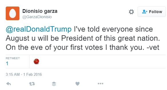 Dioniso Garza III, Donald Trump supporter, Houston Shooter