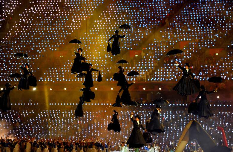 London 2012, Mary Poppins Olympics, Olympics Opening Ceremony