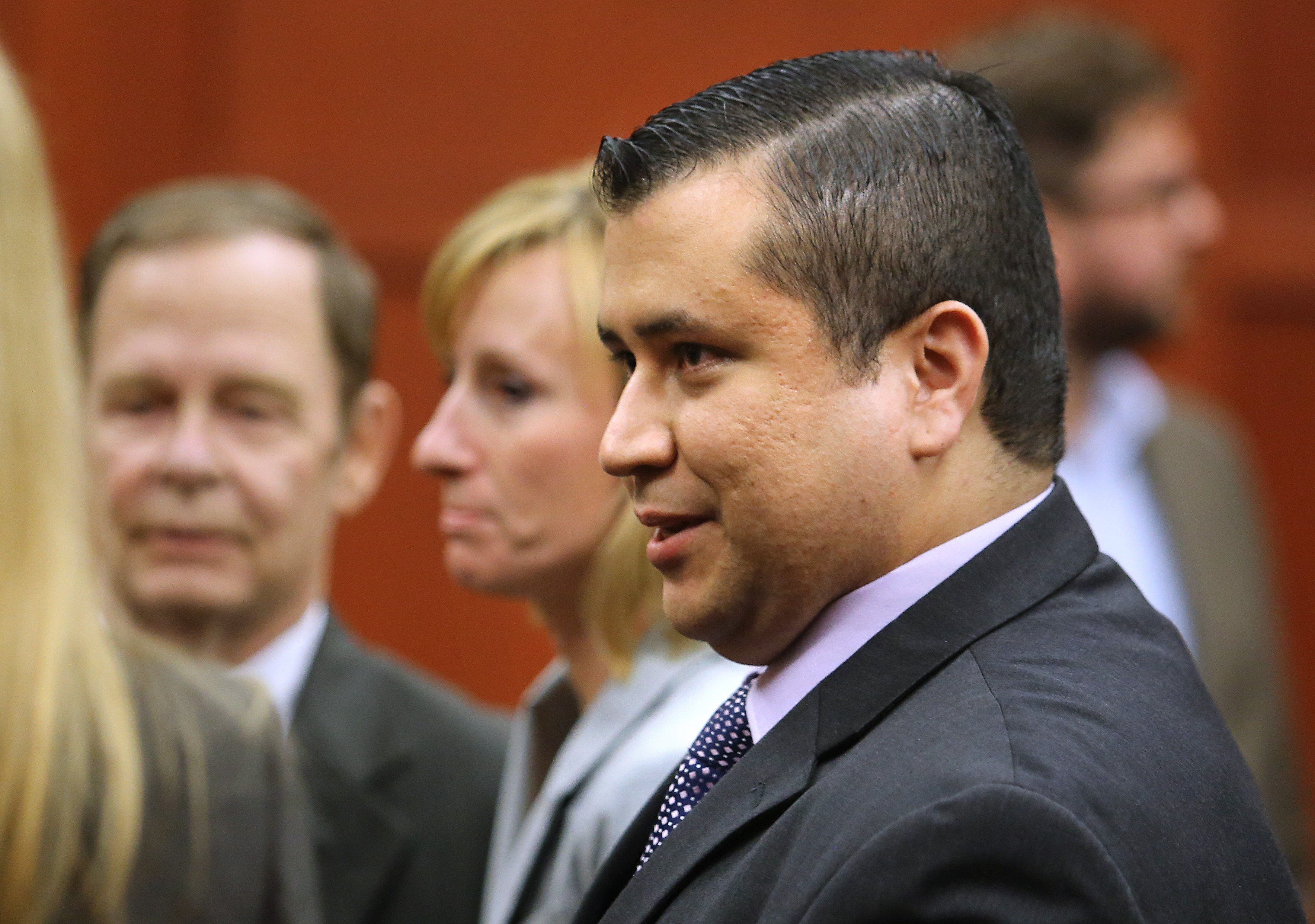 George Zimmerman in court after his acquittal. (Getty)
