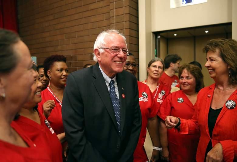 Bernie Sanders supporters, Bernie Sanders fans, Bernie Sanders smile