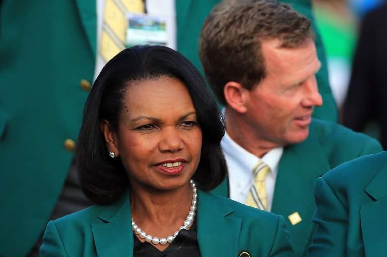 Condoleezza Rice golfing, Condoleezza Rice Masters, Condoleezza Rice Augusta