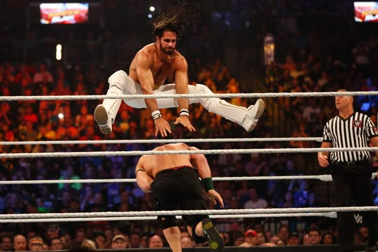 John Cena Seth Rollins, John Cena Summerslam, John Cena injury
