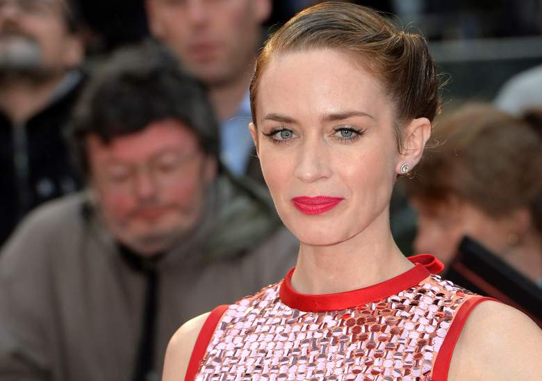 Emily Blunt Sicario, Emily Blunt red carpet, new Mary Poppins