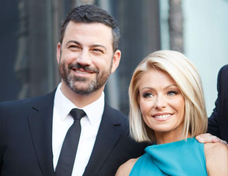 live with kelly co-hosts, jimmy kimmel on live with kelly