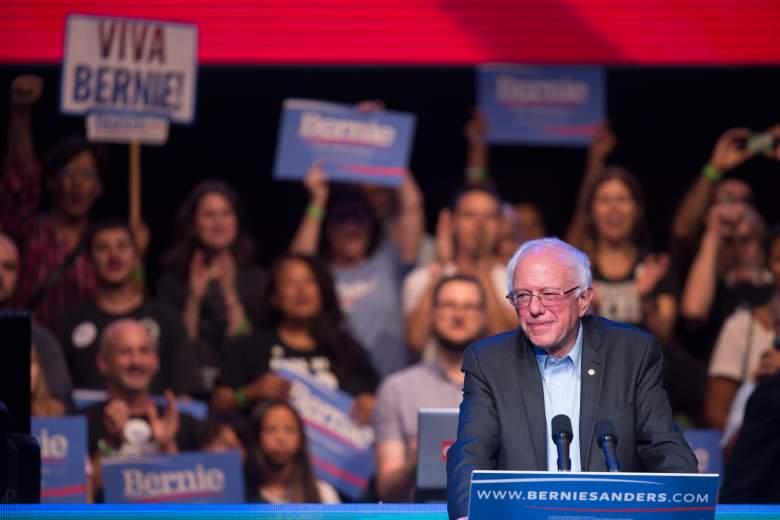 Bernie Sanders injunction, Bernie Sanders speech, Bernie Sanders rally