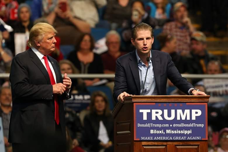Eric Trump Donald Trump, Eric Trump Rally, Eric Trump campaign, Eric Trump speech