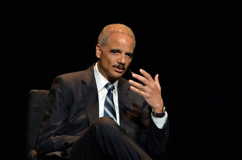Tina Brown and Eric Holder, Eric Holder, Obama Attorney General