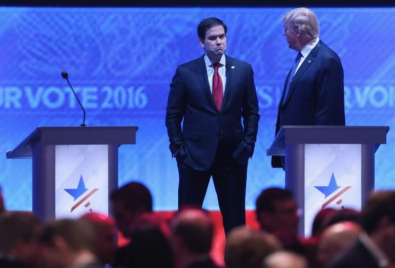 Marco Rubio Donald Trump, Marco Rubio republican debate, Marco Rubio Donald Trump debate