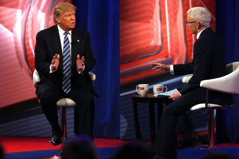 Donald Trump CNN, Donald Trump town hall, Donald Trump Anderson Cooper