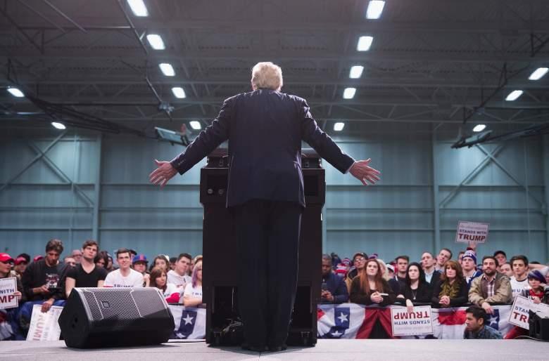 Donald Trump Michigan, Donald Trump Warren, Donald Trump rally, Donald Trump Macomb Community College,