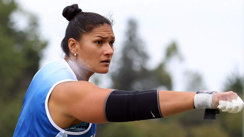 valerie adams steven sister shot put gold medals olympics age height