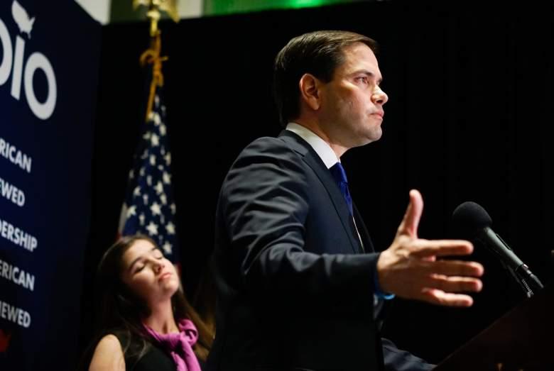 Marco Rubio campaign, Marco Rubio suspend campaign, Marco Rubio speech