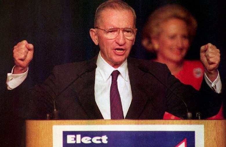 Ross Perot, Ross Perot 1992, Ross Perot Election